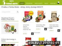 Miniaturka domeny chatkazyerbamate.pl