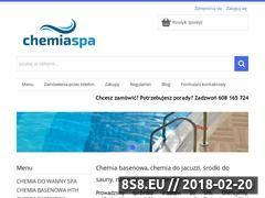 Miniaturka chemiaspa.pl (Profesjonalna i bezpieczna chemia basenowa)