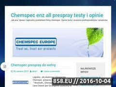 Miniaturka domeny chemspec.com.pl