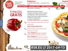Miniaturka domeny chilipizza.krakow.pl