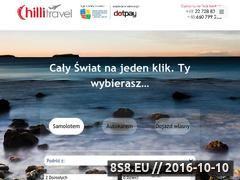 Miniaturka domeny chilli-travel.pl