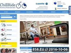 Miniaturka www.chillride.pl (Sklep rowerowy)