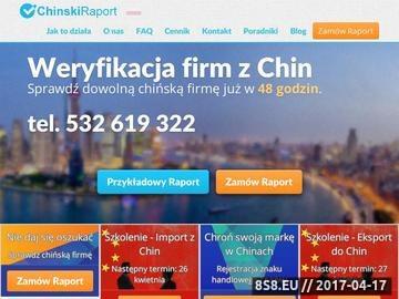 Zrzut strony Import z Chin Targi w Chinach - sprawdź firmę z Chin
