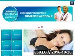 Miniaturka domeny chirurgia-plastyczna.wroc.pl