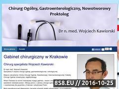 Miniaturka domeny www.chirurgiakrakow.com.pl