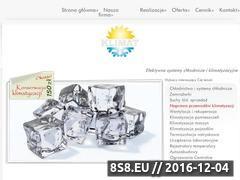 Miniaturka domeny www.chlodnictwo.pl