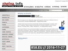 Miniaturka domeny www.chojna.info