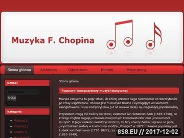 Zrzut strony Chopin