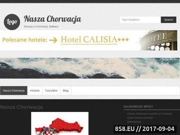 Zrzut strony Apartamenty w Chorwacji