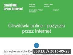 Miniaturka Chwilówki online - chwilowki-online365.pl (chwilowki-online365.pl)