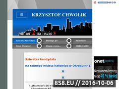 Miniaturka domeny www.chwolik.republika.pl