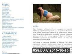 Miniaturka domeny www.ciazowe.info