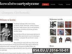 Miniaturka domeny www.ciechomski.com