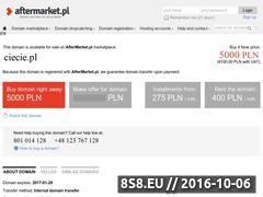 Miniaturka domeny ciecie.pl