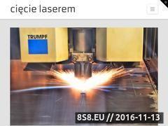 Miniaturka ciecielaserem.info (Cięcie laserem)