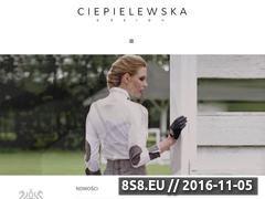 Miniaturka domeny www.ciepielewska.pl