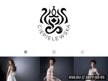 Zrzut strony Ekskluzywna Odzież Kobieca Warszawa - Ewa Ciepielewska - Projektanci