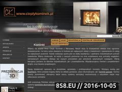 Miniaturka domeny cieplykominek.pl