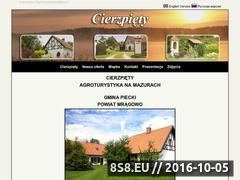 Miniaturka domeny www.cierzpiety.mazury.pl
