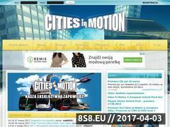 Miniaturka domeny www.cities-in-motion.pl