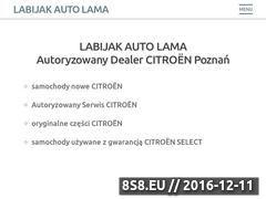 Miniaturka domeny citroen.poznan.pl
