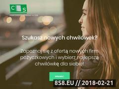 Miniaturka citysniper.pl (Chwilówki 2018)