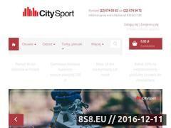 Miniaturka domeny www.citysport.com.pl