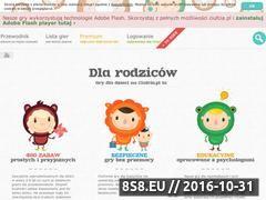 Miniaturka ciufcia.pl (Gry dla małych dzieci)