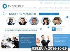Miniaturka domeny ckbpremium.pl