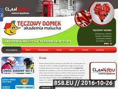 Miniaturka domeny clan4you.pl