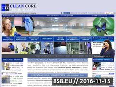 Miniaturka domeny www.clean-core.pl