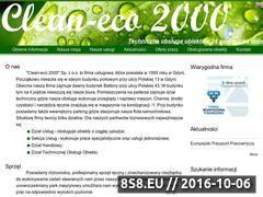 Miniaturka domeny cleaneco2000.pl