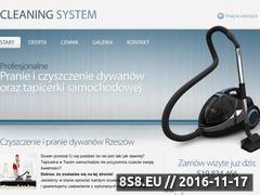 Miniaturka domeny cleaning-system.pl