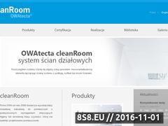Miniaturka domeny www.cleanrooms.pl