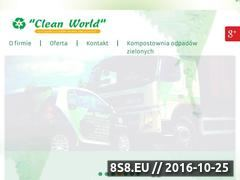 Miniaturka domeny www.cleanworld.pl