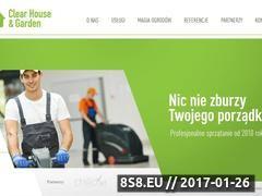 Miniaturka domeny www.clear-house.com.pl
