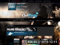 Miniaturka clubparty.com.pl (Radio ClubParty - radio dla znajomych i przyjaciół)