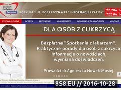 Miniaturka www.cmpoprzeczna.pl (Usługi medyczne)