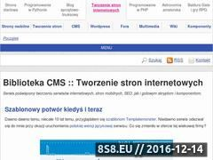 Miniaturka domeny www.cms.rk.edu.pl