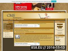 Miniaturka domeny www.cms4you.cba.pl