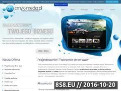 Miniaturka domeny www.cmyk-media.pl