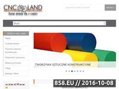 Miniaturka domeny www.cncland.pl