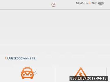 Zrzut strony Odszkodowanie za wypadek w pracy z CODEX w Warszawie