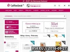 Miniaturka domeny www.coffeedesk.pl