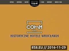 Miniaturka domeny cohm.pl