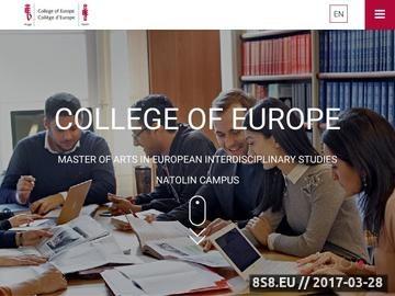 Zrzut strony Podyplomowe studia ekonomiczne