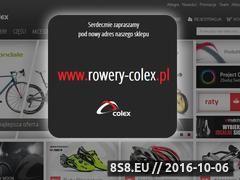 Miniaturka domeny www.colex-rowery.pl