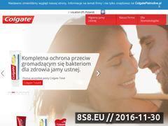Miniaturka domeny www.colgate.pl