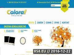 Miniaturka domeny www.coloraf.pl