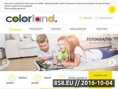 Miniaturka domeny www.colorland.pl